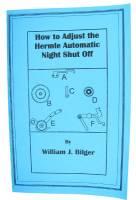 Books - Clocks: Repair & How-To Books - How To Adjust Hermle Auto Night Shut Off by William Bilger