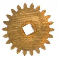 Wheels & Wheel Blanks, Motion Works, Fans & Relate - Ratchet Wheels & Intermediate Wheels - Brass 22.25mm Intermediate Wheel