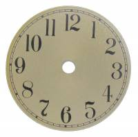 "Clearance Items - Brass Tone Arabic 3-7/8"" Aluminum Dial"