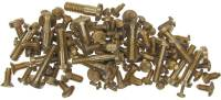Fasteners - Screws (Inch & Metric Sizes) - 100-Piece Assortment Bell & Case Fitting Screws