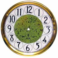 """Clearance Items - 10-11/16"""" Fancy Arabic Dial/Pan Combo With 9"""" Time Track"""