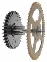 Wheels & Wheel Blanks, Motion Works, Fans & Relate - Cuckoo Ratchet Wheels & Components - 8-Day Time Side Chain Wheel Gear for 19.1cm Drop Movements