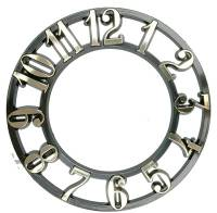 "Clock Repair & Replacement Parts - Dials & Related - 3"" Arabic Plastic Time Ring - Full Set of 12 Numbers"