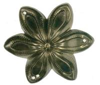 Clock Repair & Replacement Parts - Case Parts - Bronze Flower Case Ornament