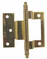 "Clock Repair & Replacement Parts - Case Parts - Cabinet Door Hinge  2-7/8"" (73mm) long"