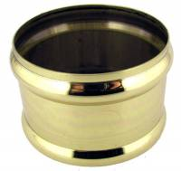 Clearance Items - Polished Brass Weight Shell Memory Ring