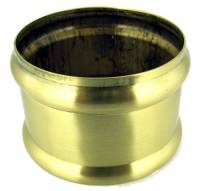 Clearance Items - Brushed Brass Weight Shell Memory Ring