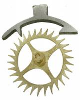 Clock Repair & Replacement Parts - Verges & Verge Components - Verge & 30T Escape Wheel
