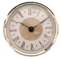 "Clock Repair & Replacement Parts - Movements, Motors, Rotors, Fit-Ups & Related - 80mm (3-5/32"") Roman Fancy Dial Fit-Up"