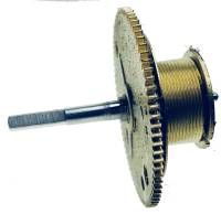 Clock Repair & Replacement Parts - Weight Cord & Rope, Wire Cable & Guards, & Gut - Winding Drum with Arbor - #K075049/50