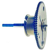 Clock Repair & Replacement Parts - Weight Cord & Rope, Wire Cable & Guards, & Gut - Winding Drum with Arbor - #K075037