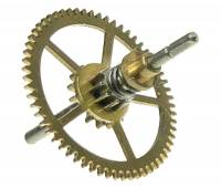 Clock Repair & Replacement Parts - Wheels & Wheel Blanks, Motion Works, Fans & Relate - Blessing #016-047 Center Wheel