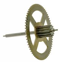 Clock Repair & Replacement Parts - Wheels & Wheel Blanks, Motion Works, Fans & Relate - Hermle Third Wheel (Time) For 451-461-1151-1161 (114CM) - No Second Hand