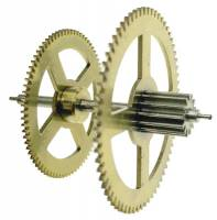 Clock Repair & Replacement Parts - Wheels & Wheel Blanks, Motion Works, Fans & Relate - Hermle Third Wheel (Time) For 451-461-1151-1161 (94cm) - With Second Hand