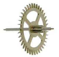 Clock Repair & Replacement Parts - Wheels & Wheel Blanks, Motion Works, Fans & Relate - Hermle Dead Beat Escape Wheel (114cm) - With No Second Hand