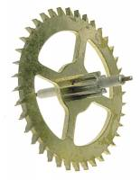 Clock Repair & Replacement Parts - Wheels & Wheel Blanks, Motion Works, Fans & Relate - Hermle Auto Beat Escape Wheel (94cm) - With Second Hand