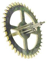 Clock Repair & Replacement Parts - Wheels & Wheel Blanks, Motion Works, Fans & Relate - Hermle Auto Beat Escape Wheel (114cm) - With Second Hand