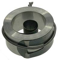 "Clock Repair & Replacement Parts - Mainsprings, Arbors & Barrels - .656"" x .095"" x 77.5"" Hole End Chelsea Mainspring"