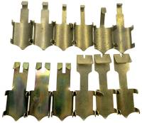 "Pendulum Rods & Rod Components  - Pendulum Rod Hangers & Hooks - Pendulum Top Hook For 1/2"" & 5/8"" Rods  12-Pc. Asst. - Brass"