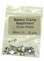Watch & Jewelry Parts & Tools - Parts - Battery Clamp 25-Piece Assortment