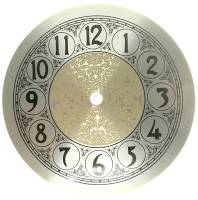 "Clearance Items - 6-5/16"" Fancy Arabic Dial with 5-1/2"" Time Track"