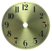 "Clearance Items - 4-1/2"" Round brass Arabic Aluminum Dial"