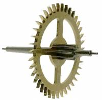 Clock Repair & Replacement Parts - Wheels & Wheel Blanks, Motion Works, Fans & Relate - Hermle Deadbeat Escape Wheel for 55cm Pendulum