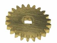 Clock Repair & Replacement Parts - Wheels & Wheel Blanks, Motion Works, Fans & Relate - 26.0mm x 22 Tooth Brass Gear