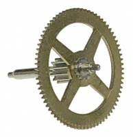 Wheels & Wheel Blanks, Motion Works, Fans & Relate - First, Second. Third & Fourth Wheels - Hermle 400-Day 1st Wheel