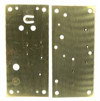Clock Repair & Replacement Parts - Case Parts - Kern 400-Day Movement Plate Set (Plate 1405A)