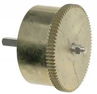 Clock Repair & Replacement Parts - Mainsprings, Arbors & Barrels - Koma 400-Day Barrel With Mainspring & Arbor (Miniature)