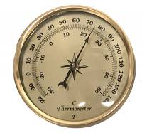 "Clocks, Watches, Timers, Weather Instruments - PRIMEX-89 - 2-3/4"" Thermometer"