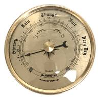 "Clocks, Watches, Timers, Weather Instruments - PRIMEX - 2-3/4"" Barometer"