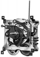 "Mechanical Movements & Related Components - Cuckoo Clock Movements - SBS-21 - 8-Day Regula 34 Cuckoo Movement 7-3/4"" Drop"