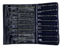 Drills, Drill Bits & Sets - Drill Bit Sets - 15-Piece Metric Drill Set 1.05mm-2.0mm