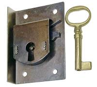 "TT-11 - Door Lock 1-3/4"" x 2-7/16"" - Steel"