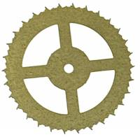 Clock Repair & Replacement Parts - Wheels & Wheel Blanks, Motion Works, Fans & Relate - Urgos UW-32 Auto Beat Escape Wheel