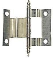 "Clock Repair & Replacement Parts - 3"" Brushed Nickel Cabinet Door Hinge"