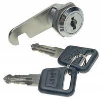 Clock Repair & Replacement Parts - Cabinet Door Lock With 2 Keys