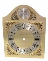 "Dials & Related - Metal Dials - Hermle Brass Roman 6"" Tempus Fugit Dial"