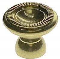 Clock Repair & Replacement Parts - Case Parts - Hermle 20mm Diameter Brass Door Knob
