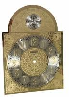 Dials & Related - Metal Dials - Hermle 280mm x 356mm Tempus Fugit Arabic Dial