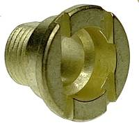 Clock Repair & Replacement Parts - Hermle Brass Fixation Nut  M10 x 7.0mm Long