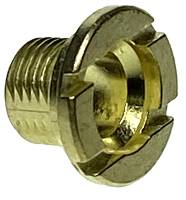 Clock Repair & Replacement Parts - Hermle Brass Fixation Nut  M8 x 7mm Long