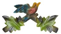 "SCHWAB-14 - Cuckoo Clock Top 6-3/4"" Green"