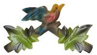 "SCHWAB-14 - Cuckoo Clock Top 8-1/4"" Green"