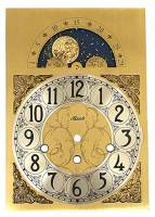 Hermle Tall Case Moon Phase Arabic Brass Dial - Image 2