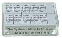 American Made Bushings - American Made KWM Sizes-Brass Bushing Assortments - DAKAT-6 - American Brass KWM Bushing Assortment-No. I