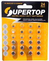 Watch & Jewelry Parts & Tools - Watch Battery 24-Piece Assortment