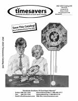 TS-87 - Timesavers Catalog-#45